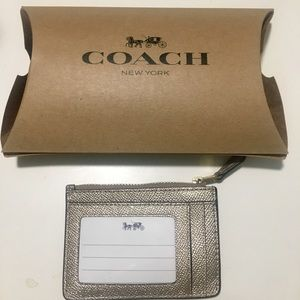 COACH Gold Card Wallet